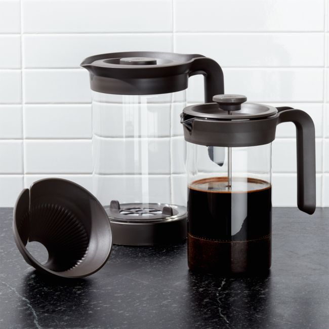 Chef'n CoffeeHouse 3-in-1 Craft Coffee Brewer + Reviews | Crate and Barrel