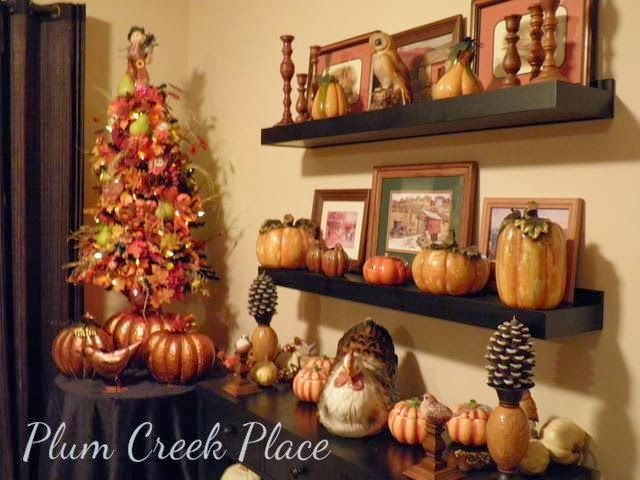 Plum Creek Place: Dining With The Owls - a Fall Tablescape
