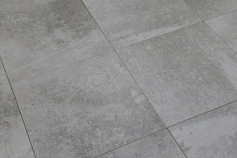 Devon Concrete Mid Grey Base Wall Tiles And