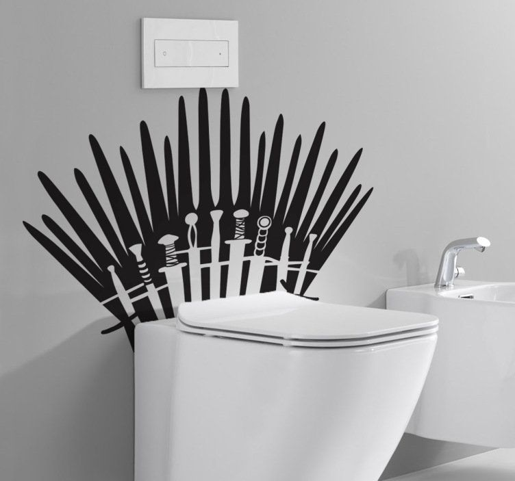 Throne up your throne. #GoT #home_decor #decoration #Style #Lifestyle #Home #House #Wallstickers #Wandtattoos #Living