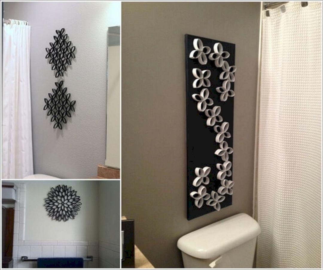 Diy bathroom wall decor ideas pin by amanda watson on home decor ideas  pinterest  bathroom wall