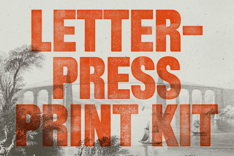 Download Letterpress Print Kit Add-ons by rhett  Subscribe