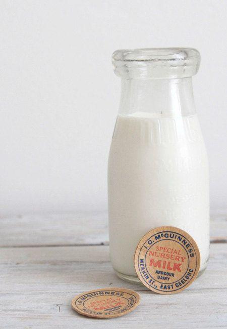 Items Similar To Vintage Glass Half Pint Australian Antique Milk Bottle On Etsy Milk Bottle Vintage Milk Bottles Milk