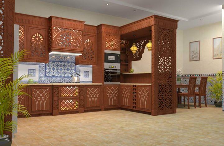 مطبخ تصاميم إ سلامية Kitchen Design Decor Luxury Kitchen Design Living Room Decor Colors