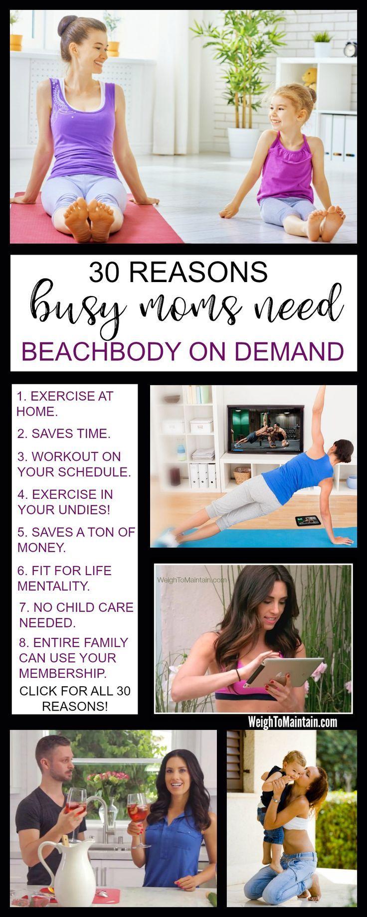 30 Reasons Busy Moms Need Beachbody On Demand All Access