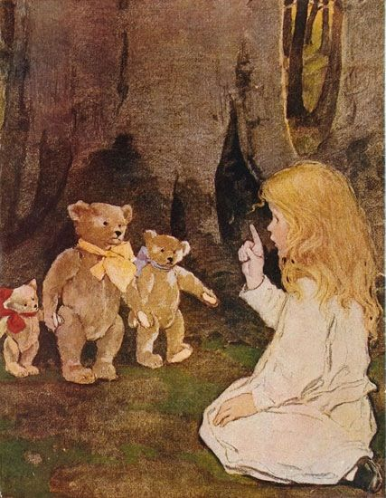 Goldilocks and The Three Bears by Jessie Willcox Smith