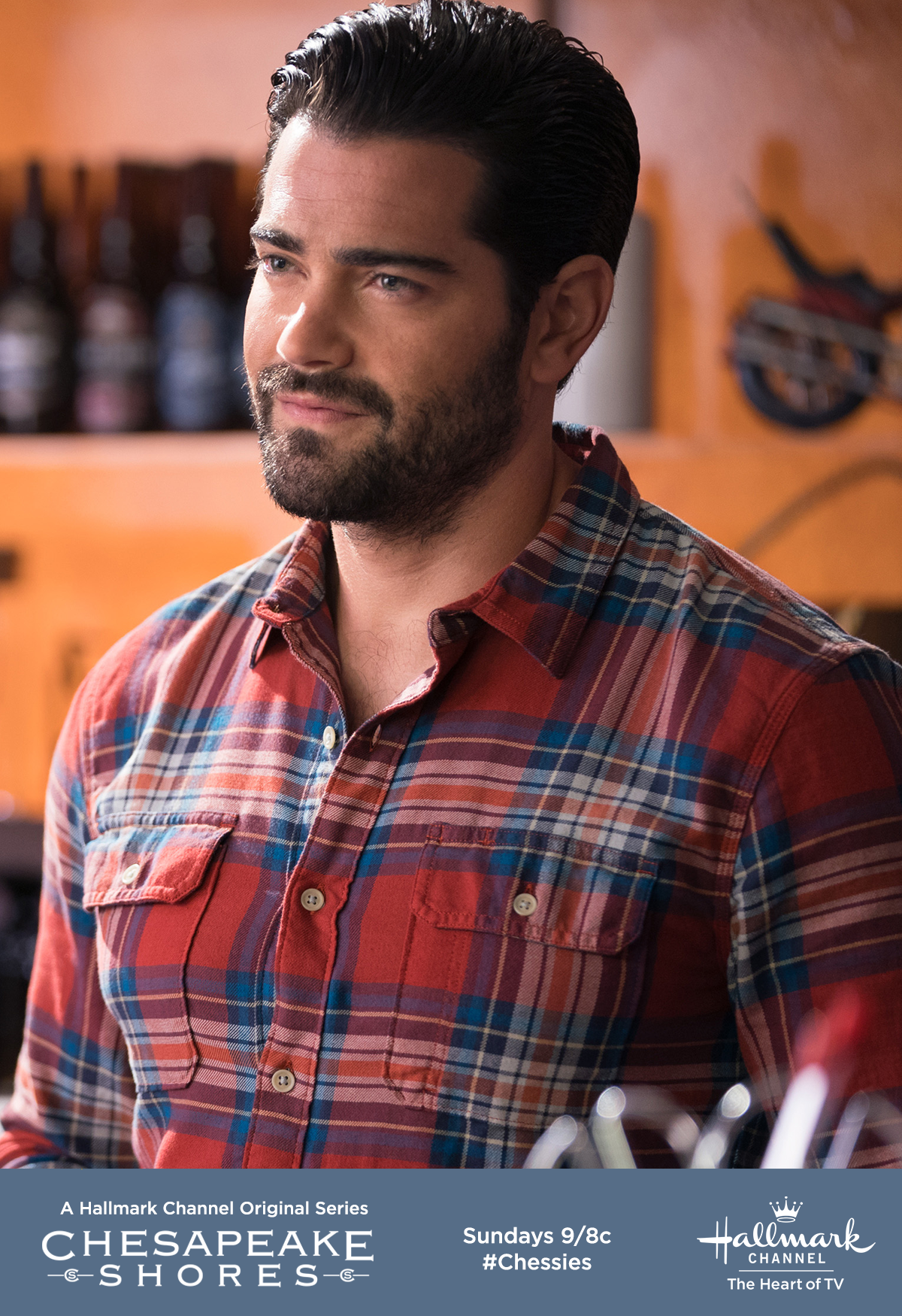 Trace Riley (Jesse Metcalfe) returns from his concert tour ...