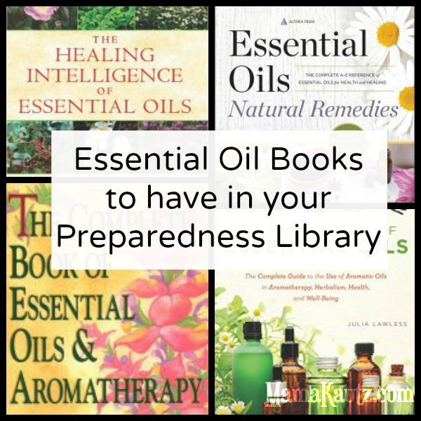 Essential Oil Books to Have in your Preparedness Library
