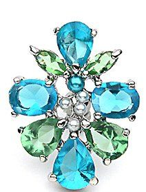 Amazon.com: Belly Button Ring Navel Flower Cluster Reverse Body Jewelry Dangle 14 Gauge: Jewelry