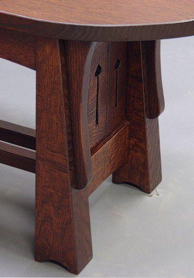 Mackintosh Coffee Table Leg Mission Style Furniture Craftsman Furniture Coffee Table