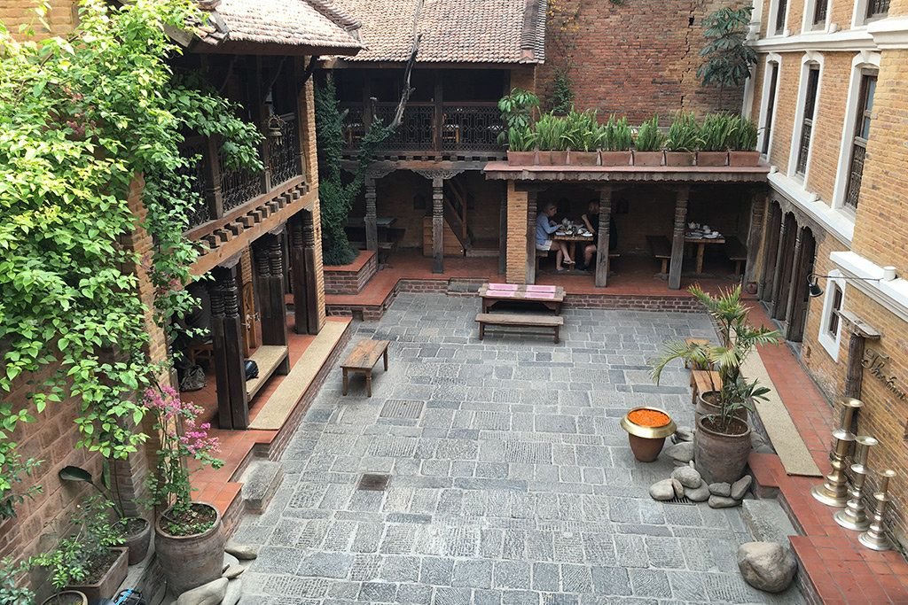 Image result for newari courtyard house in