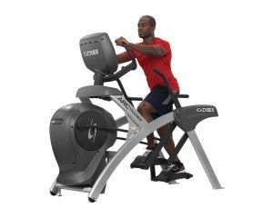 Arc Trainer An Arc Trainer Eliminates The Impact That Running Puts On Your Knees It Burns 16 Percent More Calories Than An Ell Arc Trainer No Equipment Workout