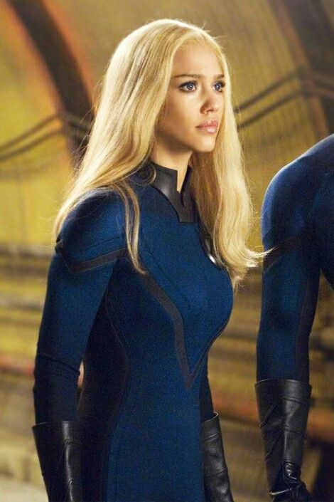 Jessica Alba Invisible Woman Rita Repulsa Fantastic Four