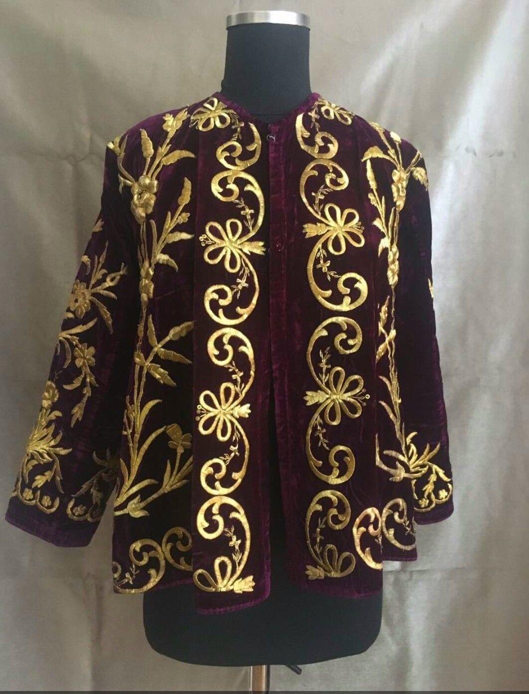 19th Century Traditional Turkish Jacket Kıyafet