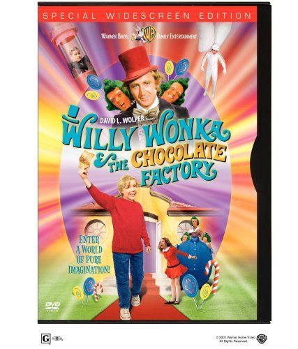 Willy Wonka and the Chocolate Factory (The best movie.)