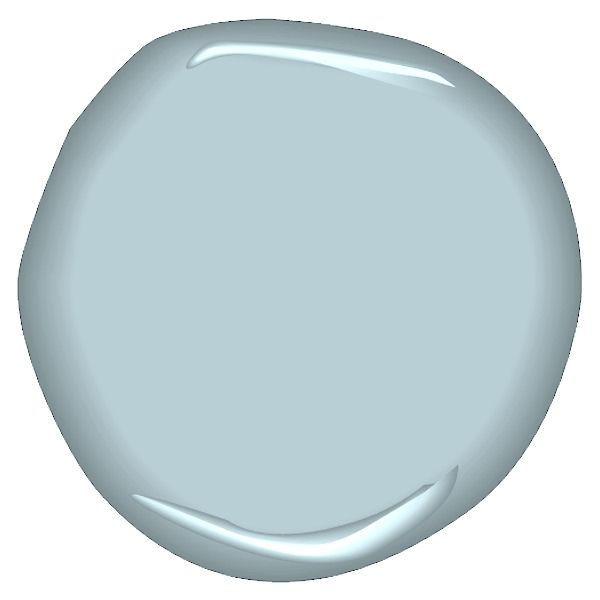 Benjamin Moore CSP-610 intuition, one of Young House Love's colors.