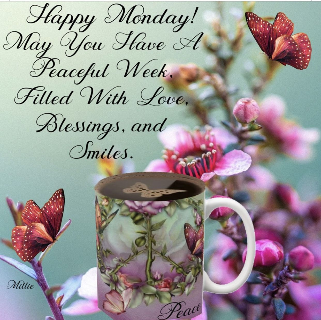 Happy Monday Inspirations Blessings