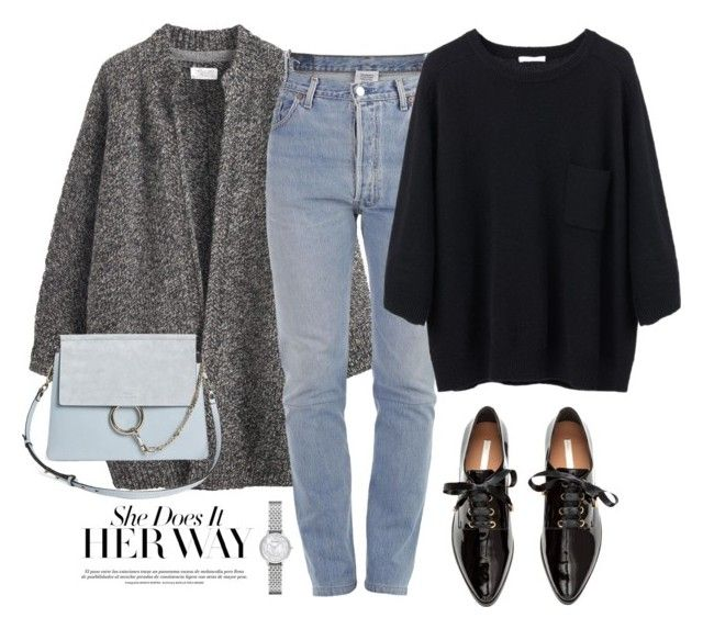 """""""She does it her way"""" by miee0105 ❤ liked on Polyvore featuring Toast, Vetements, Emporio Armani and Chloé"""