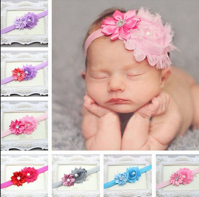 0.99 - 1Pcs Kid Girl Baby Toddler Infant Flower Headband Hair Bow Band  Accessories  ebay  Fashion 19de79ff768