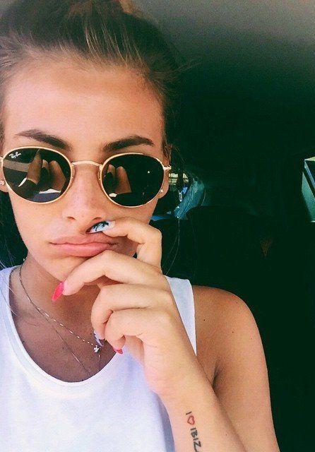 Pinterest   xonorolemodelz Round Rayban Sunglasses, Sunglasses 2016, Sunglasses  Online, Ray Ban 3311f53ebe