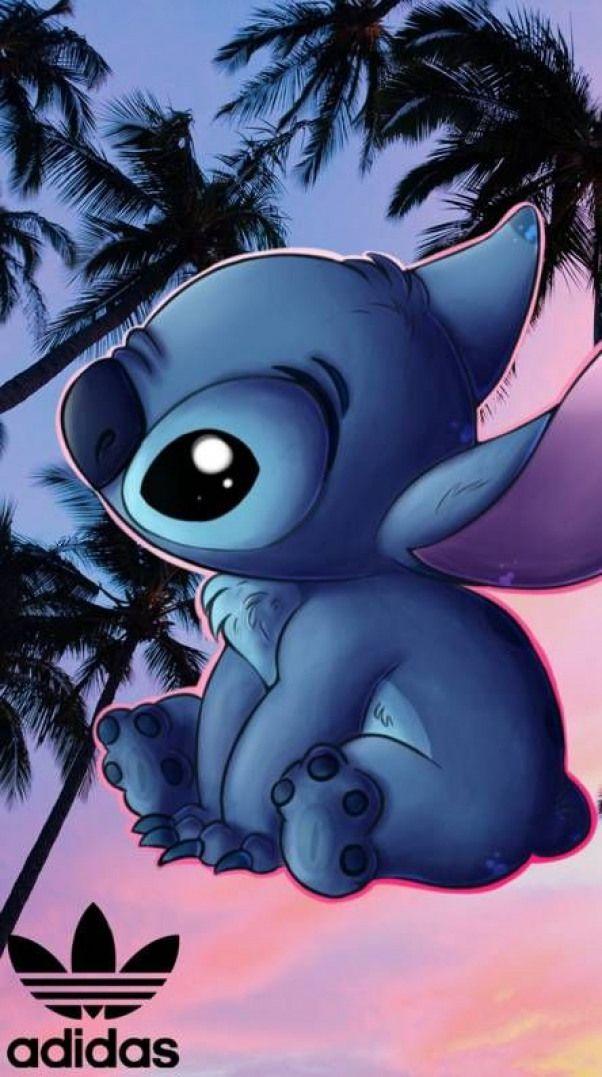 Stitch Adidas #stitching #stitching #fond #ecran | Cartoon wallpaper, Disney ...