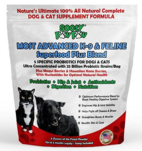 Most Advanced Canine Feline Superfood Plus Blend 5 Specific