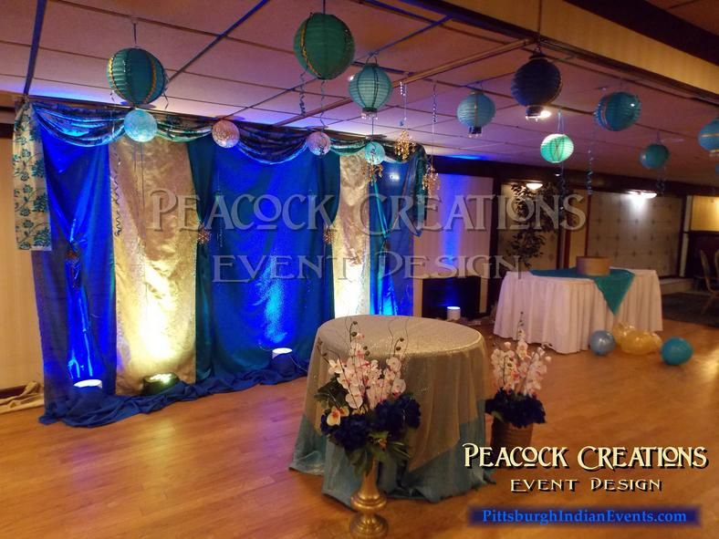 Backdrop for behind the wedding table