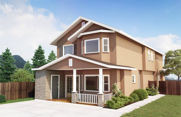 Multi Family Plan 99958 With 6 Beds 4 Baths In 2020 Family