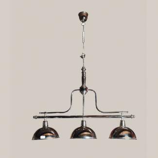 lustre trois lampes style bistrot with lustre alinea. Black Bedroom Furniture Sets. Home Design Ideas