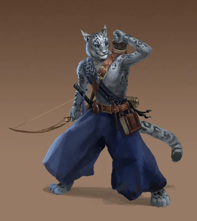 Oc Tabaxi Monk Commission Characterdrawing Character Cat Character Fantasy Character Design There are two stl's, one with a mask/hood, and one. oc tabaxi monk commission