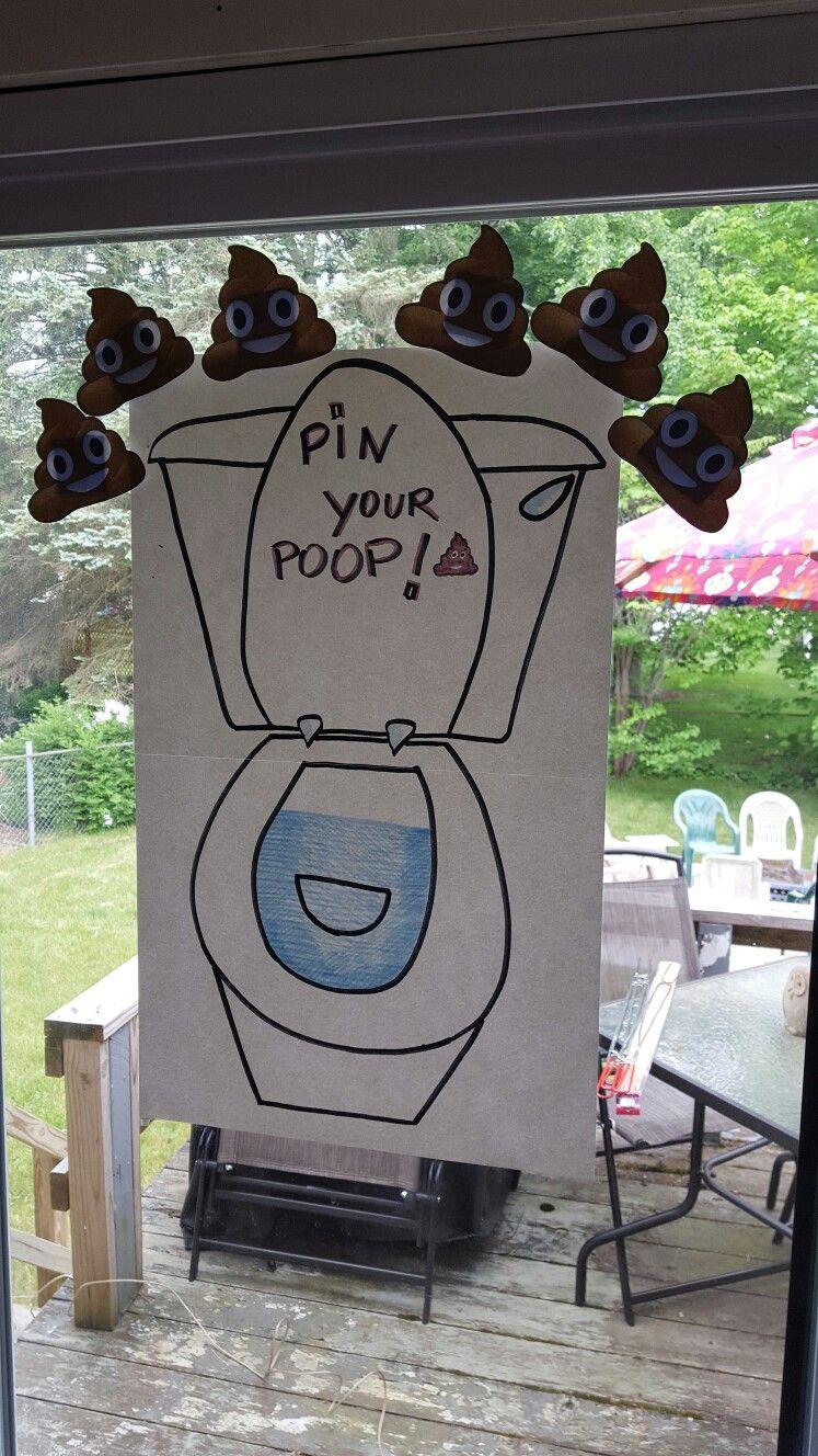 Emojis Party Game Poop