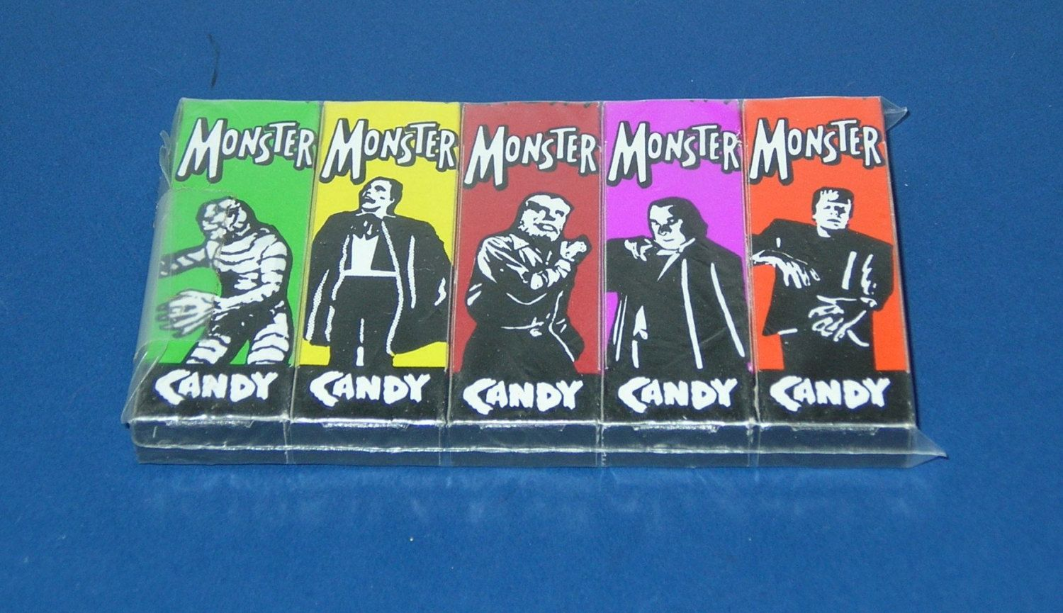 Vintage 1980s Halloween Monster Candy Box Set by