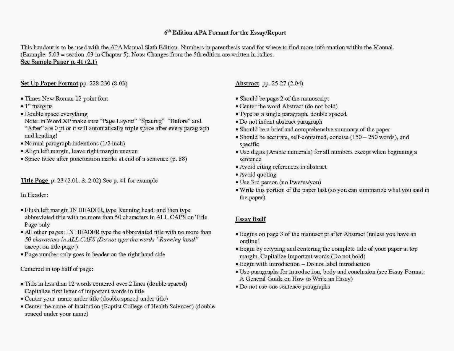 Research Paper Apa Heading In Elegant Sample Proposal Regarding Word Template 6th Edition Essay Format Example Style