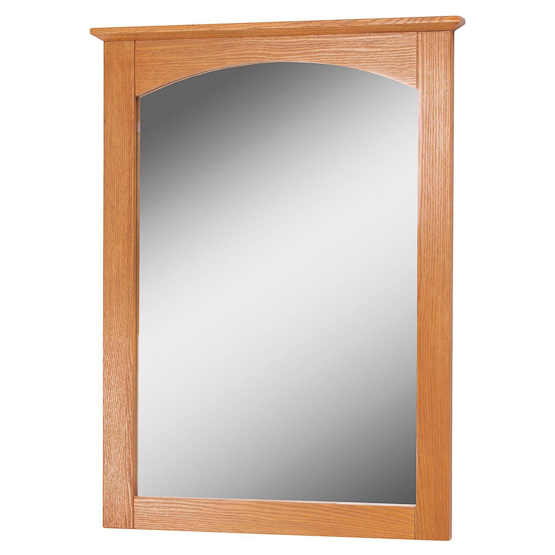Foremost Worthington Bathroom Mirror - Oak - WROM2128 | Bathroom ...