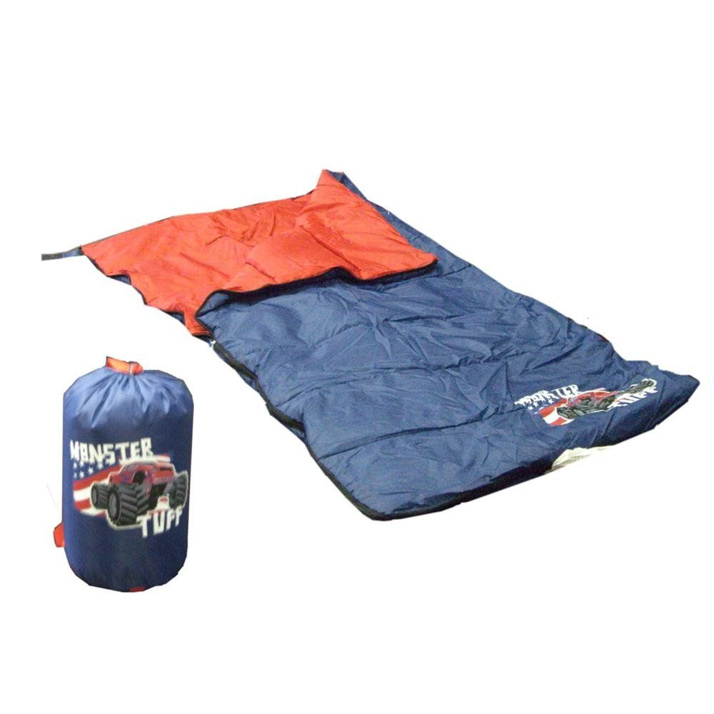 Gigatent Monster Sleeping Bag Make Nighttime A Bit More Fun With The Its Truck Design And Matching Backpack