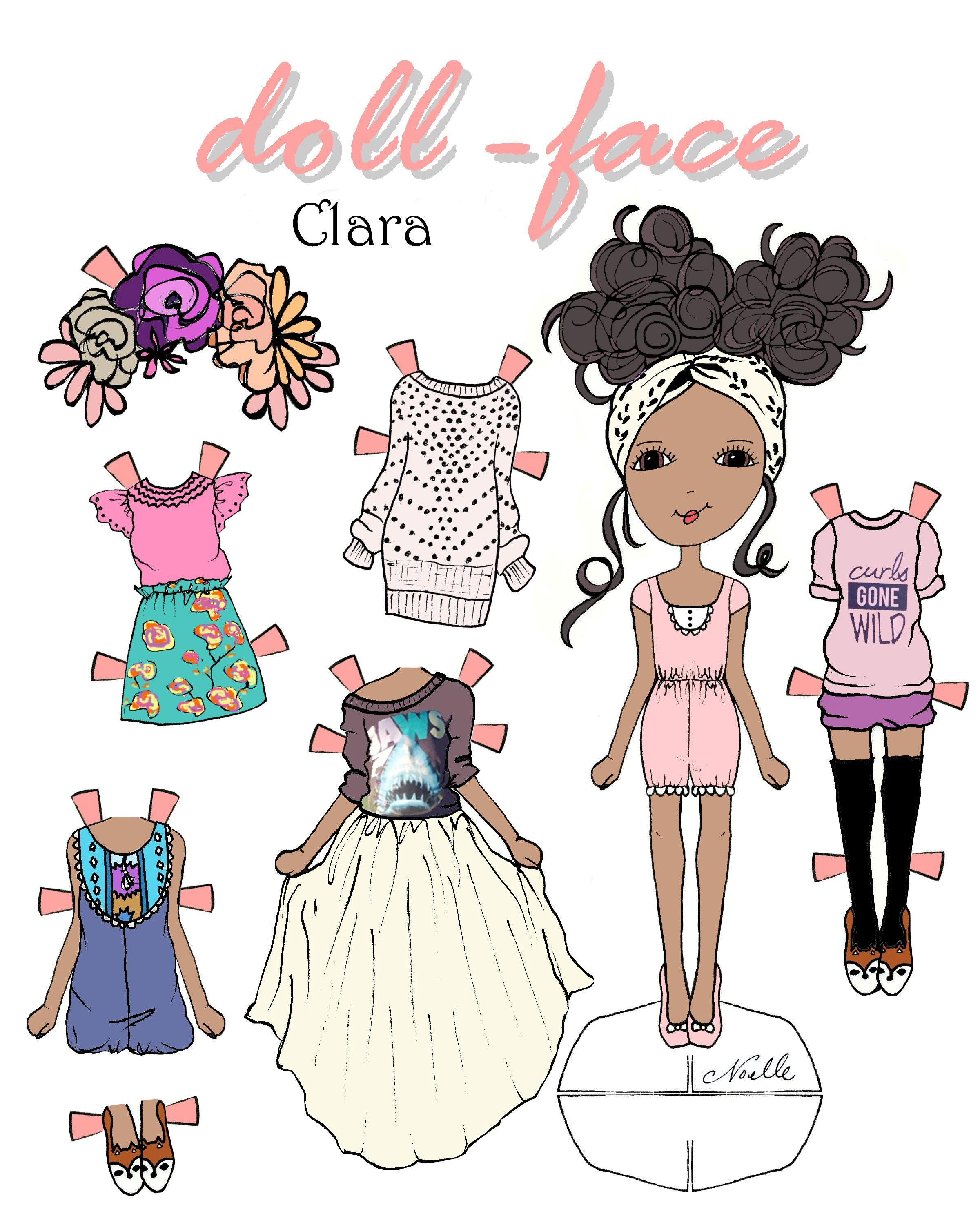 Doll Face Clara Printable 1500 Free Paper Dolls At Arielle Gabriels The International Society Also China Adventures