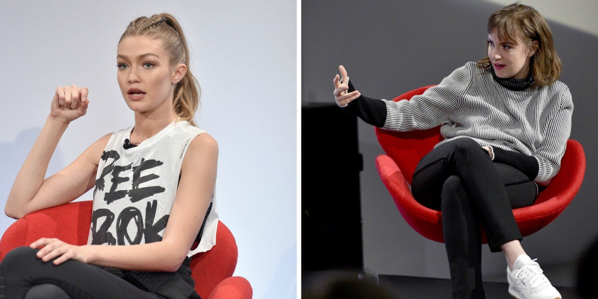 Gigi Hadid And Lena Dunham Make The Perfect Mental Health Pair