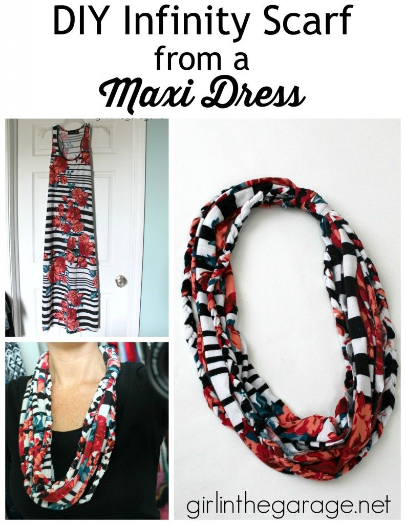 DIY: T-Shirt into Infinity Scarf Tutorial | Girl in the Garage ...