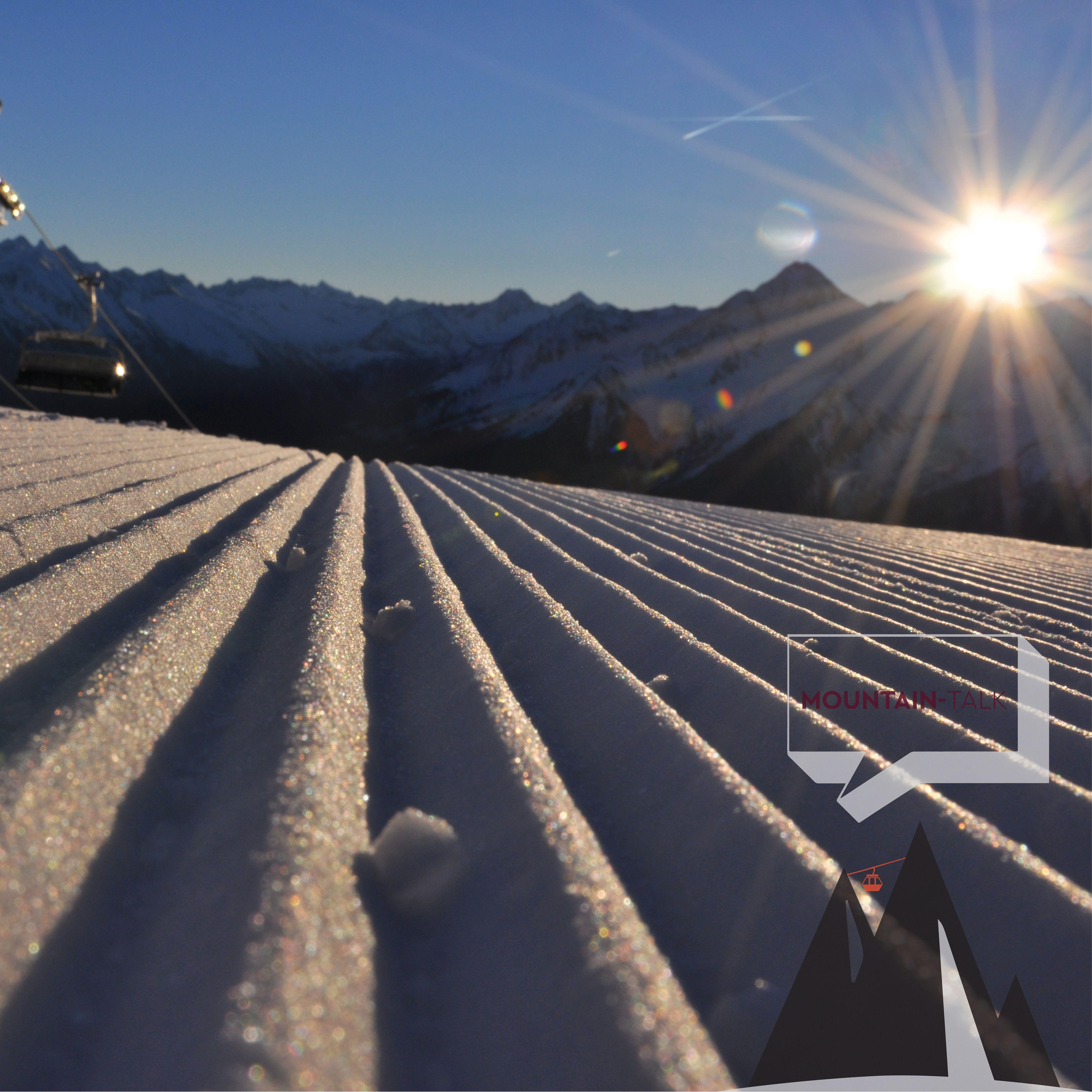 Noch schneit es leicht, doch im Laufe des Tages darf man so mancher Orts auf solch herrliches Skiwetter hoffen! ©Mayrhofner Bergbahnen #somussenbergesein #mountaintalk #potd #photooftheday
