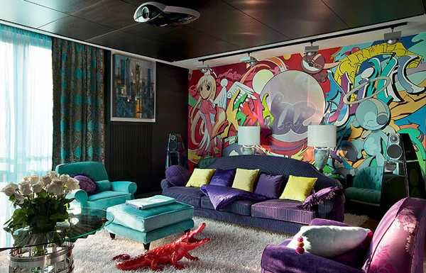 10 Steps To Modern Interior Decor In Pop Art Style In 2019