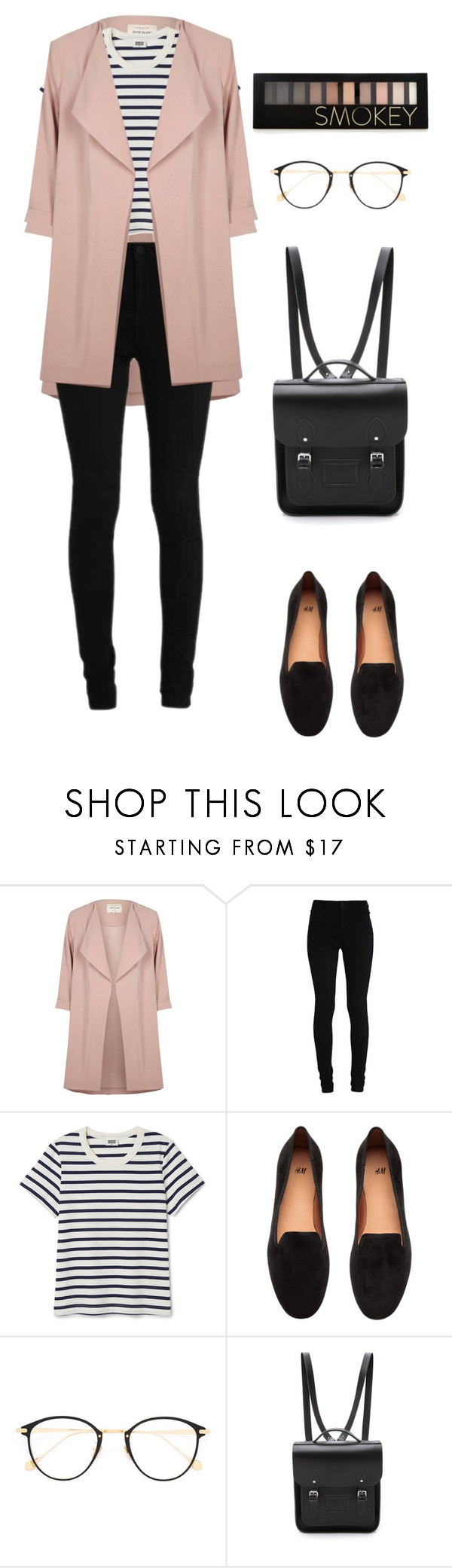 """Untitled #43"" by naomi2003a ❤ liked on Polyvore featuring River Island, H&M, Frency & Mercury, The Cambridge Satchel Company and Forever 21"