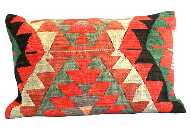 One Kings Lane - Geometric Turkish Pillow