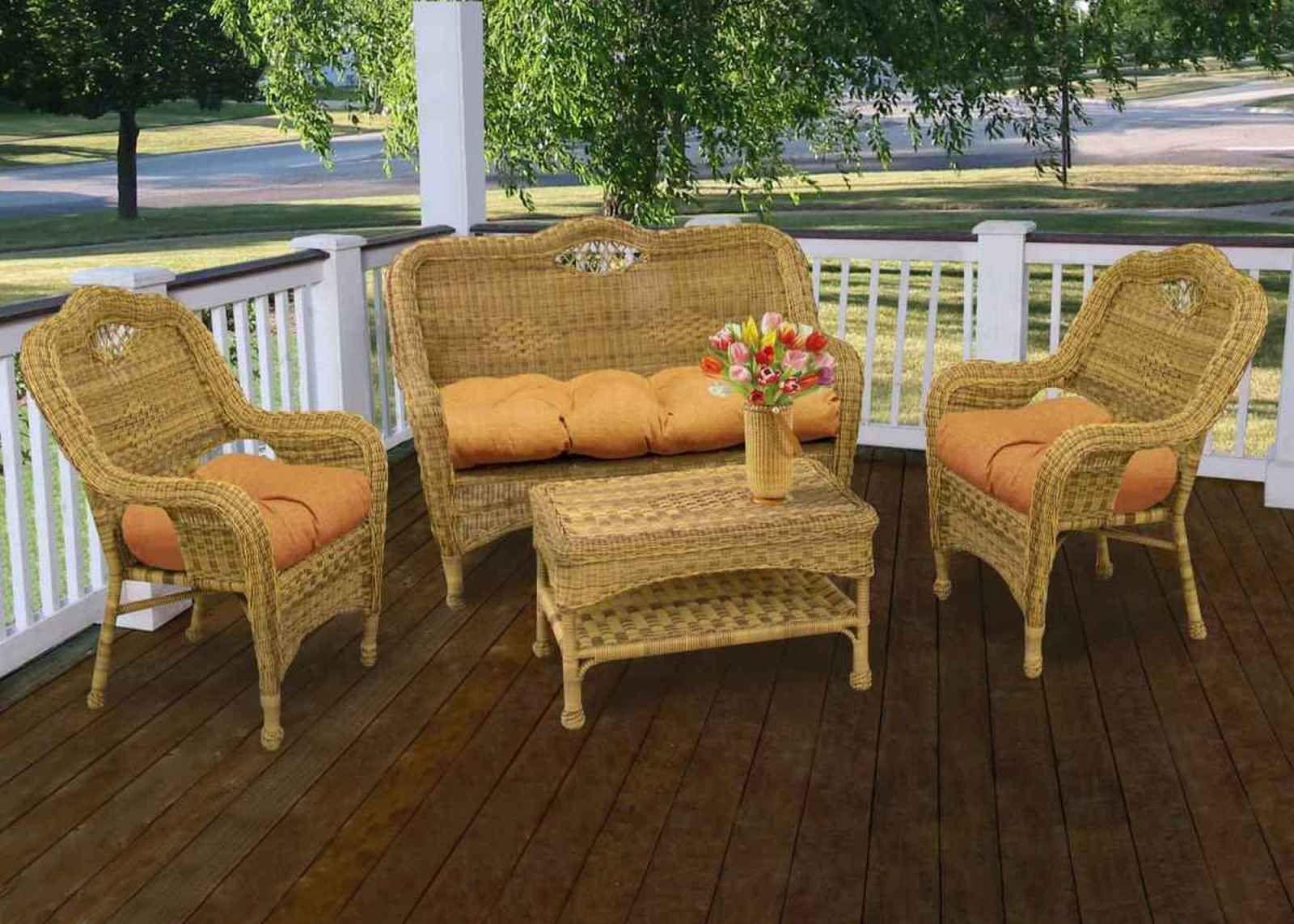 Outdoor Wicker Patio Furniture patio furniture in wicker | minimalist home design | pinterest