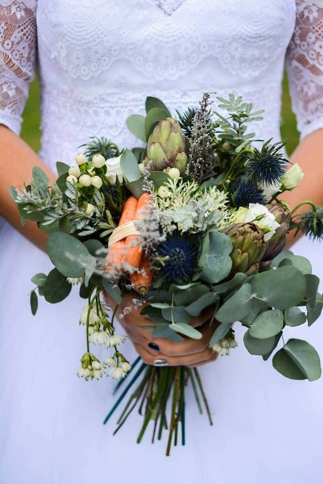 8 idées pour un bouquet de mariée champêtre