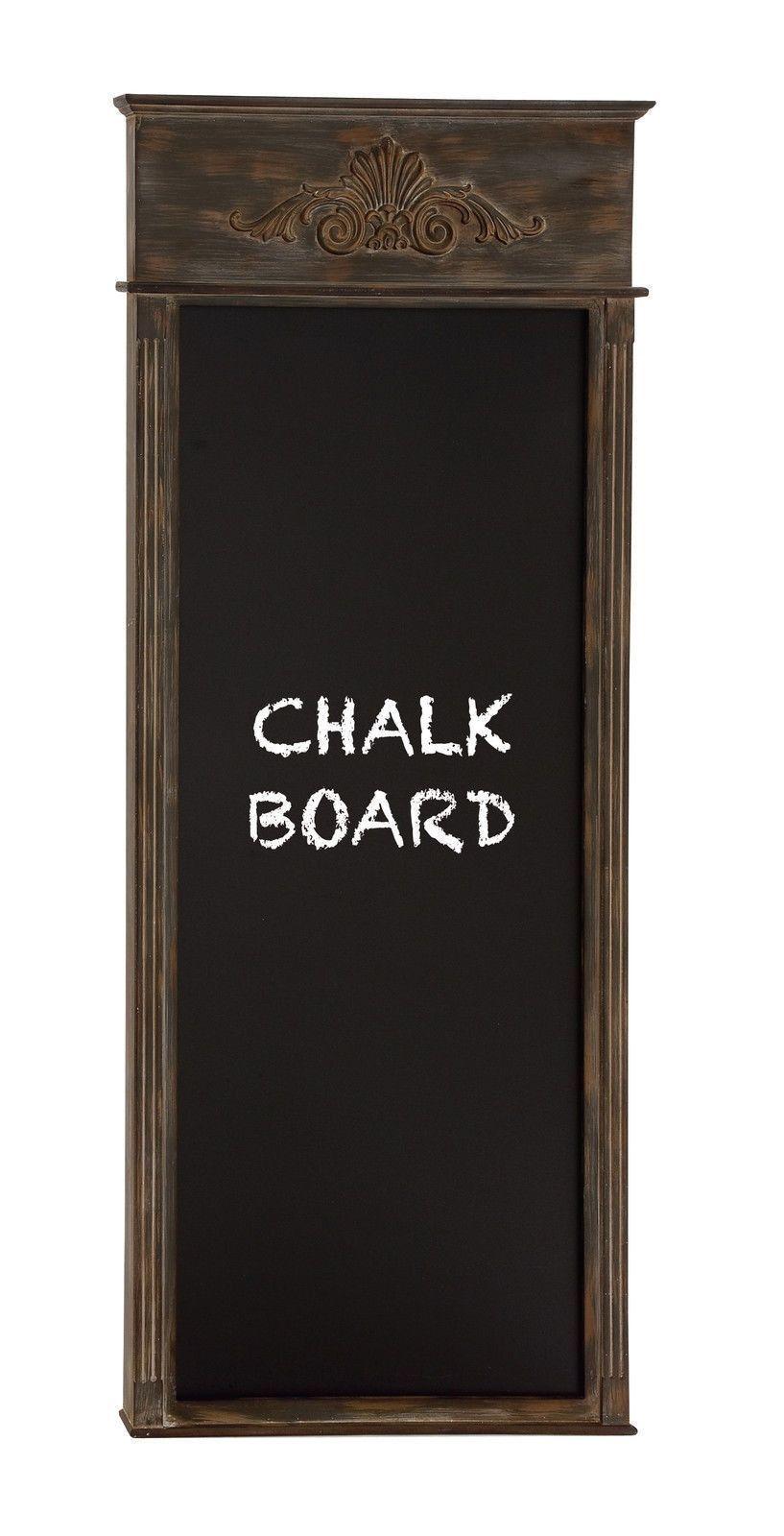 72 tall dark wood fleur de lis chalk blackboard french country restaurant decor