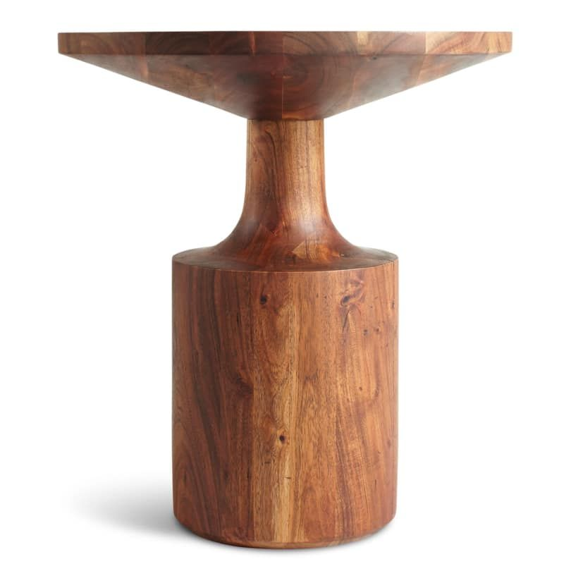 Circula Tall Side Table Tall Side Table Round Wood Side Table