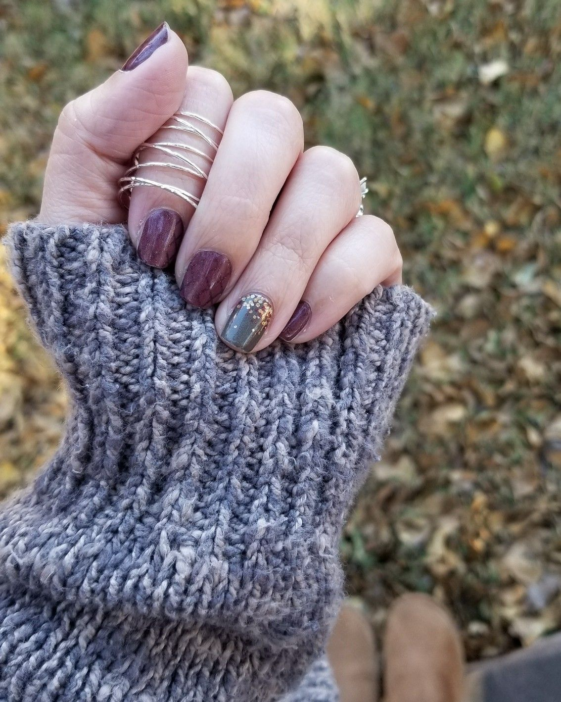 Fall nails, fun rings, cozy sweaters. Andrawilkes.jamberry.com ...