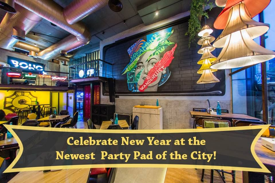Celebrate New Year At The Newest Party Pad Of The City Address 105 1st Main Khb Colony Jyothi Nivas College Road Koram Preschool Food Cafe Restaurant City