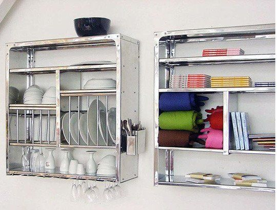 A Luxury Item For Small Kitchens A Stainless Steel Wall Mounted