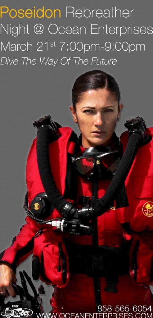 Poseidon Rebreather Night at Ocean Enterprises | Diving ...